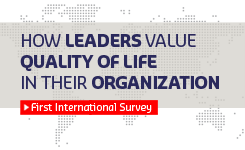 How leaders value Quality of Life in their organization (Survey)